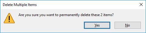 Cara menghapus file secara permanen di Windows