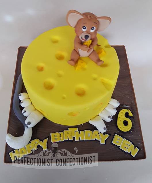 The Perfectionist Confectionist Ben Tom And Jerry Birthday Cake