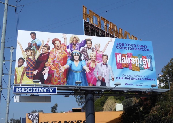 Hairspray Live 2017 Emmy billboard