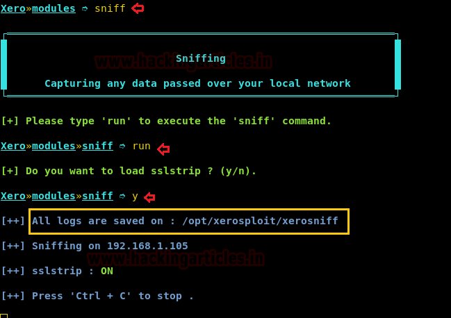 Xerosploit- A Man-In-The-Middle Attack Framework