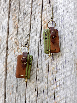 earrings, kolczyki, steampunk