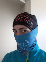 Coureuse, look de ninja, multicouches