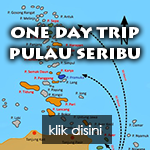 Paket satu hari ke pulau seribu
