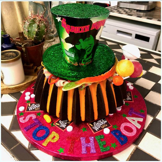 Marilyn Manson Bundt Cake