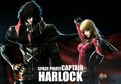 Poster Of Hollywood Film Space Pirate Captain Harlock (2013) In 300MB Compressed Size PC Movie Free Download At worldfree4u.com