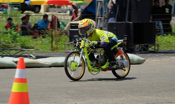 modifikasi mio drag kontes