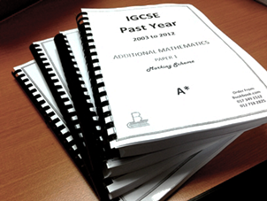 IGCSE Past Years