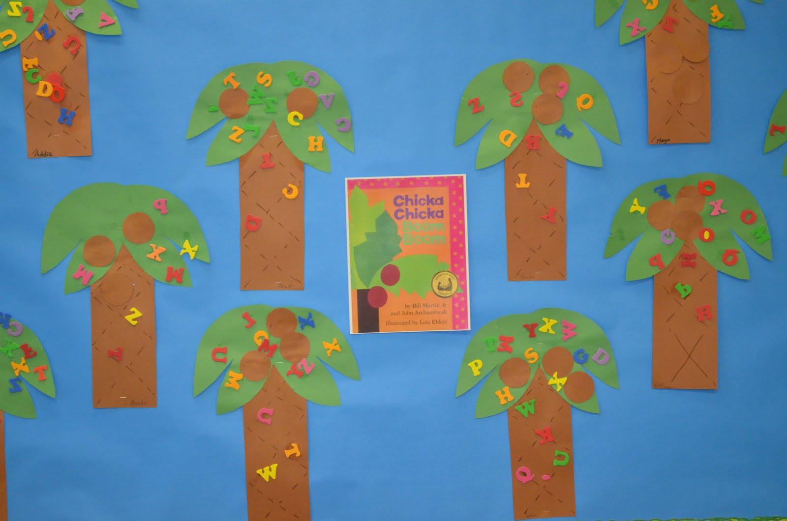 Preschool Ideas For 2 Year Olds Chicka Chicka Boom Boom