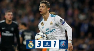 Real Madrid vs PSG 3-1 Video Gol & Highlights