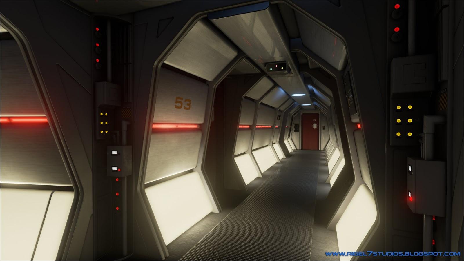 Corridor - Memory Alpha, the Star Trek Wiki |Uss Enterprise Corridors