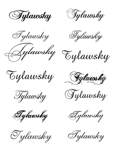 Tattoo Writing Styles Names