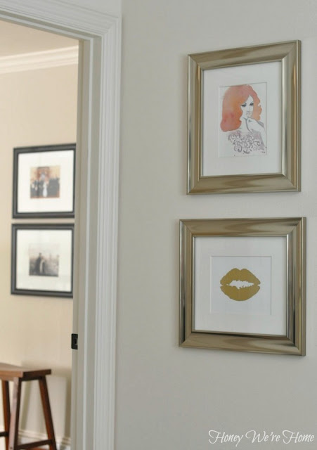 framing fashion illustration je taime art lips
