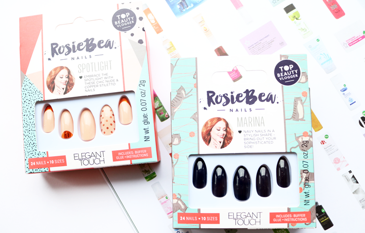 Rosie Bea x Elegant Touch Nails - Spotlight and Marina review