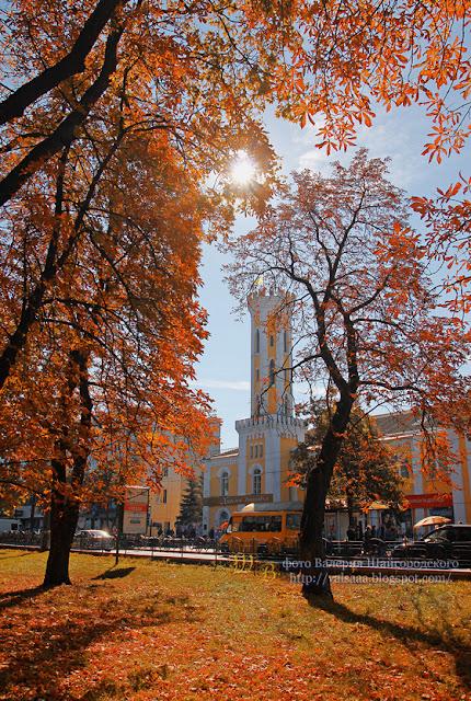 Осень в Чернигове