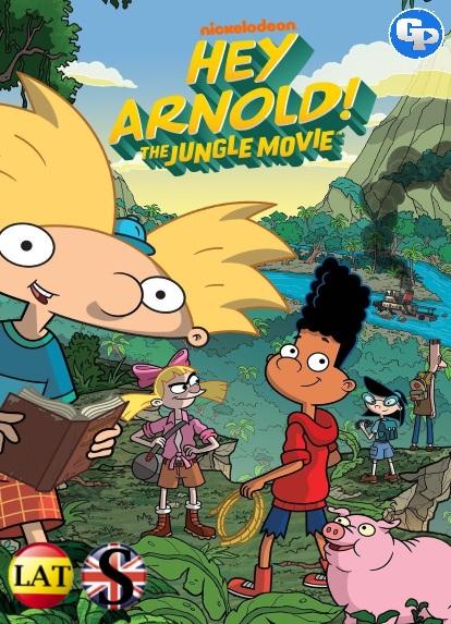 ¡Hey Arnold! Una Peli en la Jungla (2017) HD 720P LATINO/INGLES