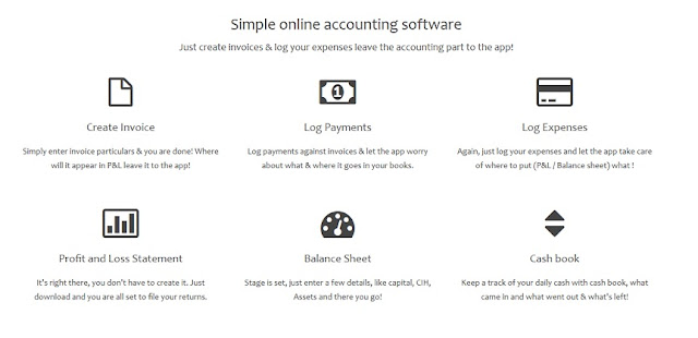 Online accounting management system