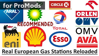 ets 2 real european gas stations reloaded for promods