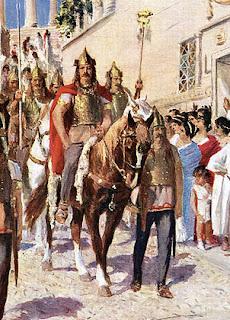 King Alaric Visigoth