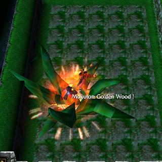 Mokuton: Golden Wood senju harasima defend konoha