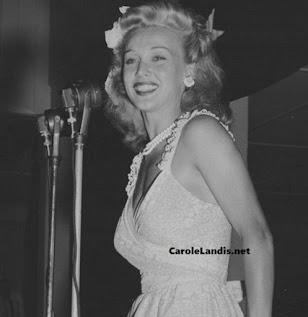 Carole Landis USO Tour