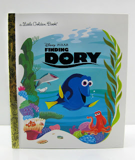 finding dory little golden book