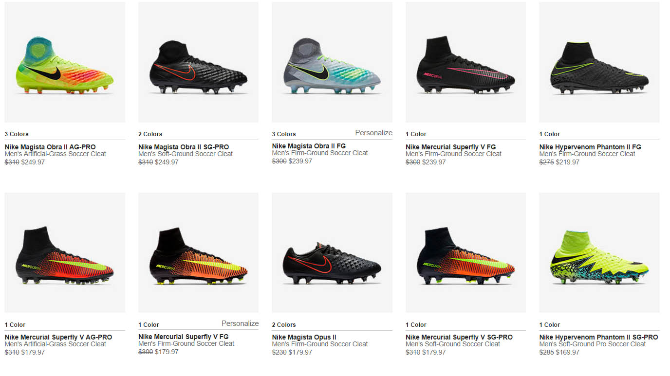 20 football boots