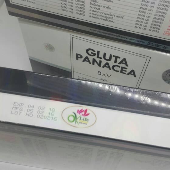 Gluta Panacea B & V Pang WINKWHITE OK LIFE