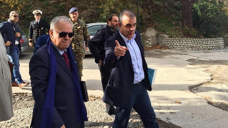 Γ. Δραγασάκης: Η Πολιτεία στο πλευρό των κατοίκων της Σαμοθράκης