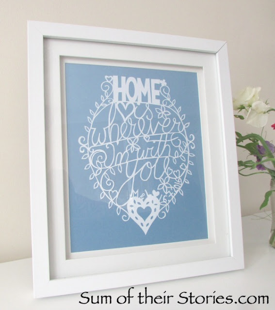 papercut wedding gift
