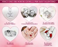 Logo Gioca e vinci gratis un gioiello per San Valentino