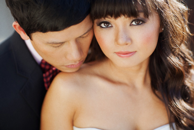 Soft Romantic Wedding Makeup I love the bride 39s soft romantic makeup
