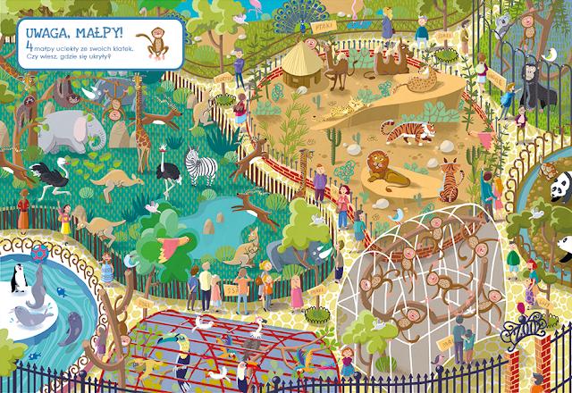 katarzyna urbaniak ilustracje wilga zagubione zwierzaki miasto zagubionych rzeczy zoo