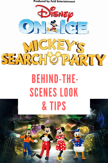 Disney on Ice Mickey's Search Party Behind-the-Scenes Look and Tips