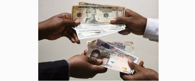 The Central Bank Of Nigeria Cbn Has Announced A New Official Naira To Dollar Exchange Rate Forcing Down Nigerian Currency By 13 As Country