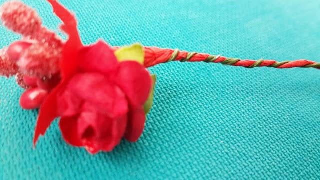 kuru çiçeklerden taç yapımı