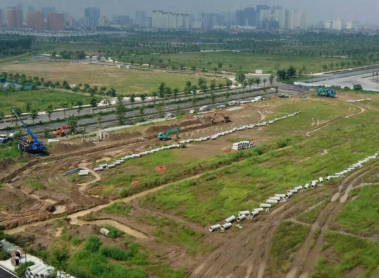 Cập nhật tiến độ dự án Embassy Garden Tây Hồ Tây ngày 31/8/2017.