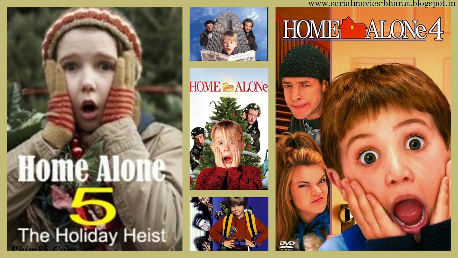 Movies Series Home Alone Movies List