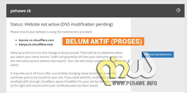 Cara Setting Custom Domain Blogger Di Cloudflare