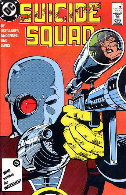 cover of Suicide Squad v1 #6 (1987). Property of DC comics.