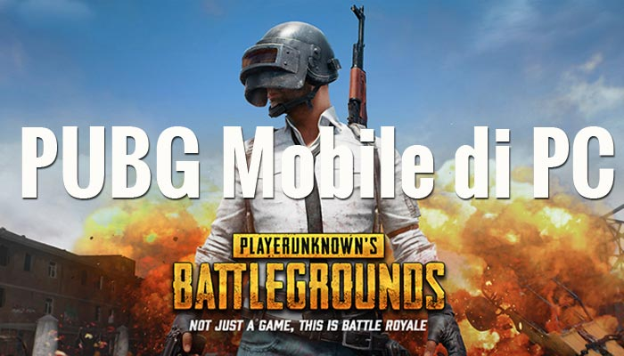 cara bermain pubg mobile di komputer pc / laptop