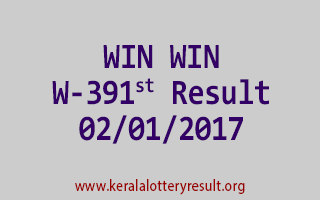 WIN WIN W 391 Lottery Results 2-1-2017