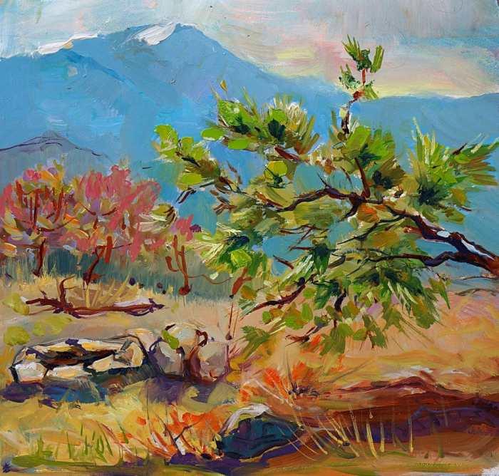 Украинский художник. Анна Загорная