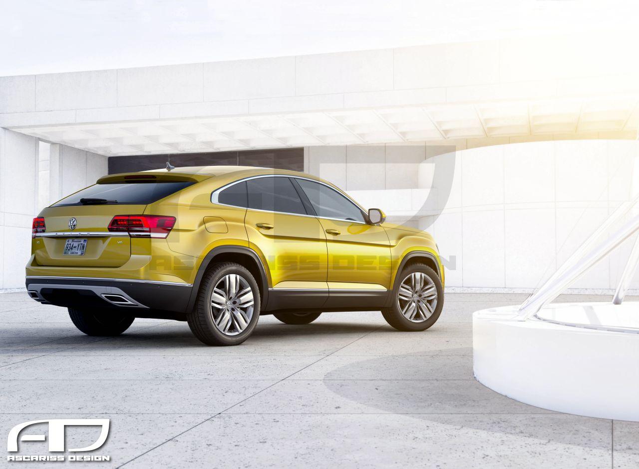 Volkswagen Atlas CC Rear