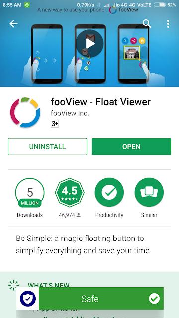 Foo view app
