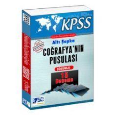 Altı Şapka KPSS Coğrafyanın Pusulası Çözümlü 15 Deneme (2016)