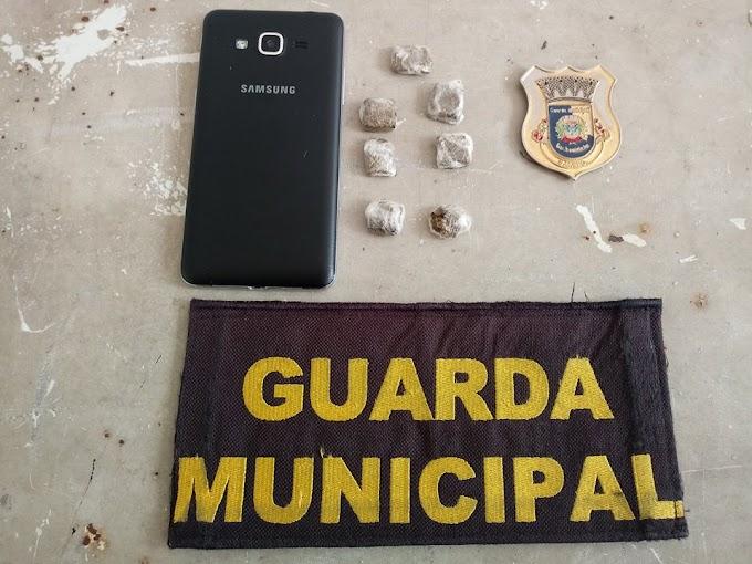 Guarda municipal apreende menor traficante na Vista Alegre em Cachoeirinha