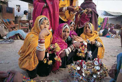 desert in rajasthan  culture image