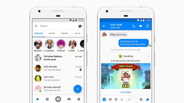 Facebook Messenger Uygulaması