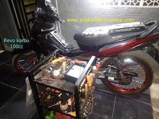 Cara pasang alarm motor Revo Karbu