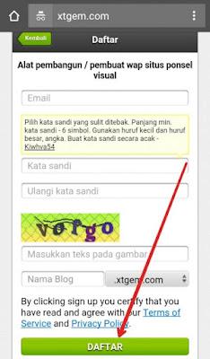 Cara Membuat Blog di Xtgem